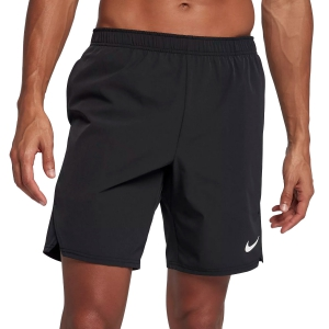 Men's Tennis Shorts Nike Court Flex Ace 9in Shorts  Black/White 887515010