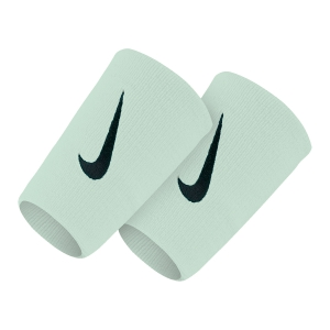 Tennis Head and Wristbands Nike Premier DoubleWide Wristbands  LightGrey/Black N.NN.51.069.OS