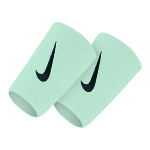 Tennis Head and Wristbands Nike Premier DoubleWide Wristbands  GlacierBlue/Black N.NN.51.479.OS