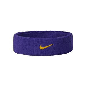 Tennis Head and Wristbands Nike Swoosh Headband  Purple/Yellow N.NN.07.512.OS