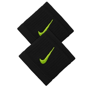 Tennis Head and Wristbands Nike DriFIT Reveal Wristbands  Black/Volt N.NN.J0.085.OS