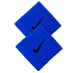 Fasce e Polsini Tennis Nike DriFit Reveal Wristbands  Blue/Black N.NN.J0.410.OS