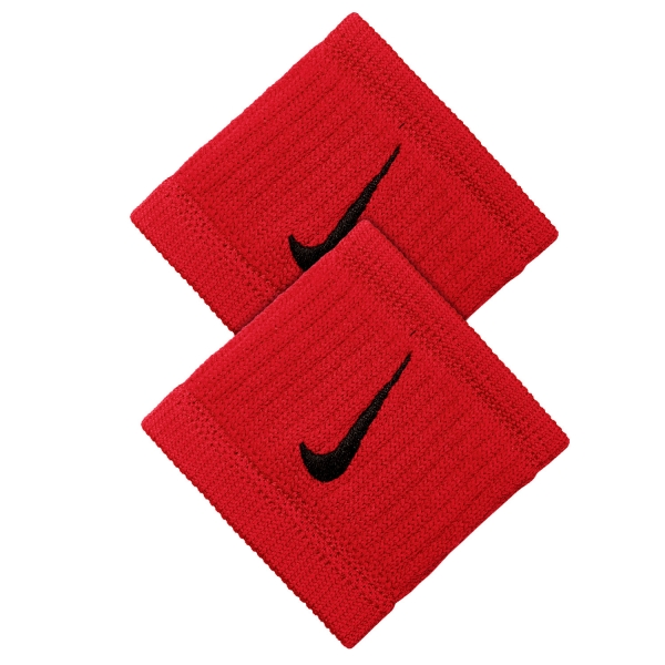 731512e816c Nike Dri-Fit Reveal Tennis Wristbands - Red Black
