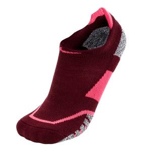 Tennis Socks Nike Grip Elite NoShow Socks  Red/Fluo Pink SX5727677