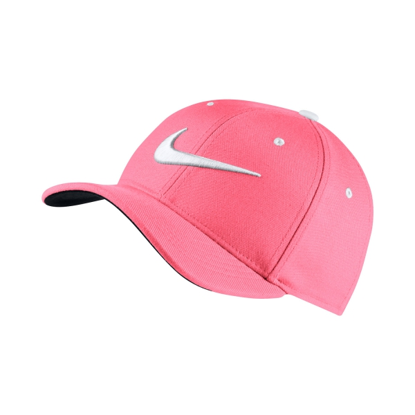 Nike Junior AeroBill Classic 99 Cap - Pink White 872686-614 ce5efafe6bf