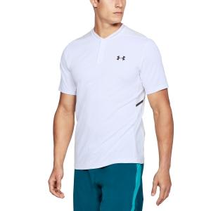 Men's Tennis Polo Under Armour Forge Polo  White 13066390100