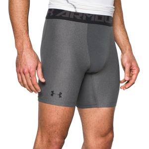 Tennis Men's Underwear Under Armour HeatGear 2.0 Compression Shorts  Grey/Black 12895660090