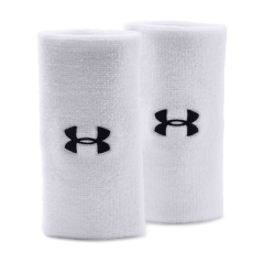 Under Armour Under Armour 6in Performance Wristband  White/Black  White/Black 12180060100