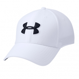 Tennis Hats and Visors Under Armour Blitzing 3.0 Cap  White/Black/Grey 13050360100