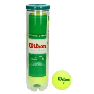 Pelotas Tenis Wilson Wilson Starter Play (Stage 1)  Tubo de 4 Pelotas WRT137400