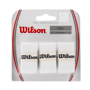 Overgrip Wilson Pro Perforated x 3 Overgrip  White WRZ4005WH