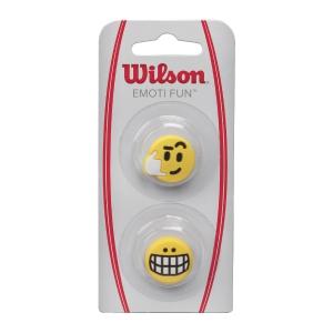 Vibration Dampener Wilson Emotion Fun Smile x 2 Dampeners  Yellow WRZ538600