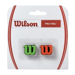 Vibration Dampener Wilson Pro Feel x 2 Dampener  Green/Orange WRZ538700