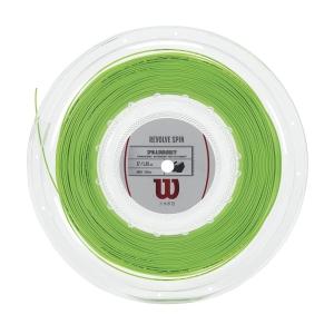 Polyester String Wilson Revolve Spin 1.25 200 m Reel  Green WRZ907500