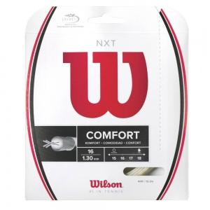 Multifilament String Wilson NXT 1.30 12 m Set  Natural WRZ942700