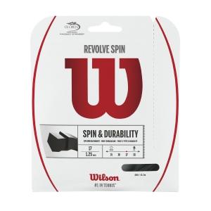 Monofilament String Wilson Revolve Spin 1.25 Set 12 m  Black WRZ958900