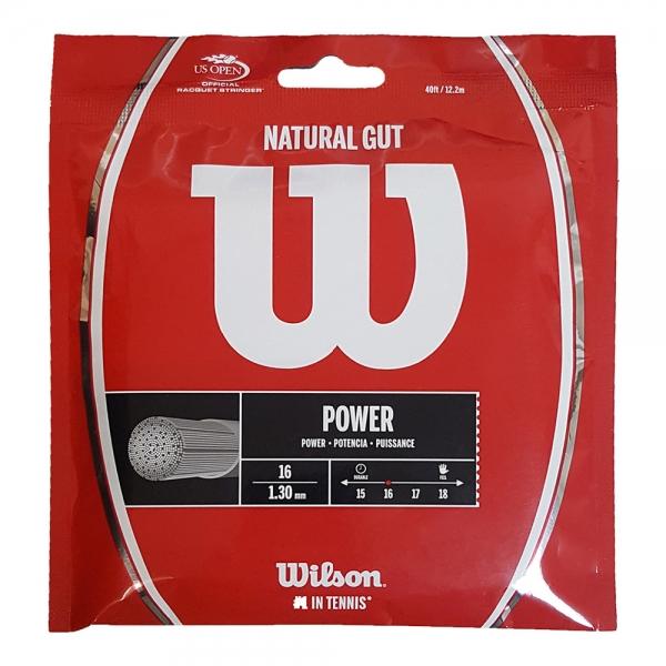 Wilson Natural Gut 1.30 Set 12 m - Natural WRZ999800