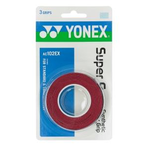 Sobregrip Yonex Super Grap x 3 Overgrip  Red 5027000R