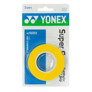 Overgrip Yonex Super Grap x 3 Overgrip  Yellow AC102EXY
