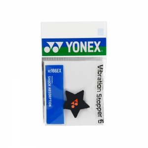 Vibration Dampener Yonex Vibration Stopper 6 Damp  Black AC166EXBKO