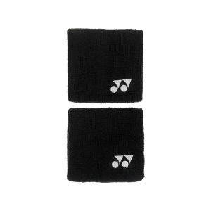 Muñequeras y Bandanes de Tenis Yonex Munequeras  Black AC489EXN