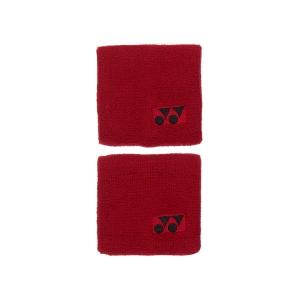 Fasce e Polsini Tennis Yonex Wristband  Red AC489EXR