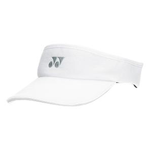 Tennis Hats and Visors Yonex Visor  White W441EXB