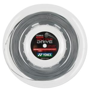 Polyester String Yonex PolyTour Drive 1.25 200 m Reel  Silver PTD1252S