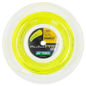 Polyester String Yonex PolyTour Pro 1.25 Reel 200 m  Flash Yellow PTP1252