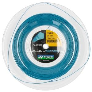 Polyester String Yonex PolyTour Spin 1.20 200 m Reel  Cobalt Blu PTS1202BL