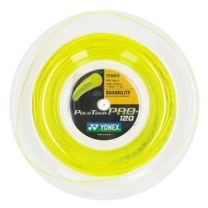 Polyester String Yonex PolyTour Pro 1.20 Reel 200 m  Flash Yellow PTGP1202