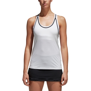 Women`s Tennis Tanks Adidas Advantage Tank  White/Black BK0640
