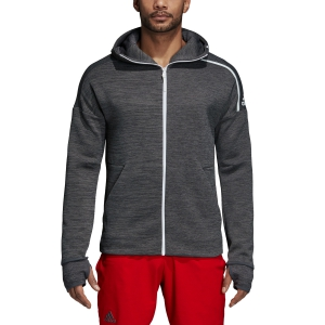 Men's Tennis Shirts and Hoodies Adidas Z.N.E. Hoodie  Grey DM7513