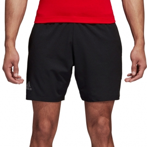 Men's Tennis Shorts Adidas Barricade Shorts  Black DM7643