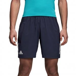 Men's Tennis Shorts Adidas Club 3 Stripes Shorts  Navy D93660