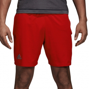 Men's Tennis Shorts Adidas Barricade Shorts  Red DM7644