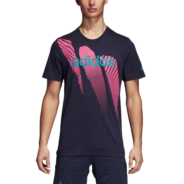 Adidas Seasonal T-Shirt - Navy DJ1721
