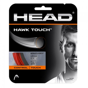 Cordaje Polyester Head Hawk Touch 1.25 Set 12 m  Red 281204 17RD