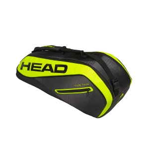 Borsa Tennis Head Tour Team Extreme Combi x6 Bag  Black/Yellow 283419 BKNY