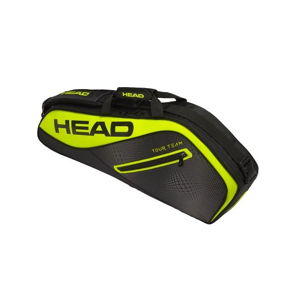 Head Tour Team Extreme Pro x3 Bag - Black/Yellow 283429 BKNY