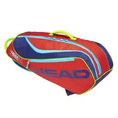 Head Junior Combi Rebel Novak Bag - Red/Navy