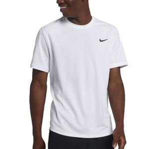 Men's Tennis Shirts Nike Court Dry TShirt  White 939134100