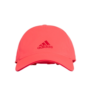 Tennis Hats and Visors Adidas Junior 5 Panel Climalite Cap  Fluo Pink DJ1009OSFY