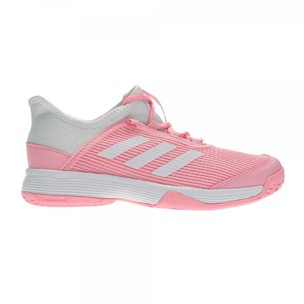Adidas Adizero Club Girls  Tennis Shoes - Pink White e96a53f760