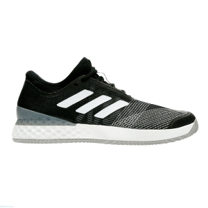 Men`s Tennis Shoes Adidas Adizero Ubersonic 3 Clay  Black/White CG6369
