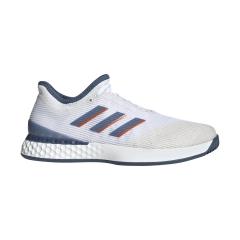 Adidas Adizero Ubersonic 3 - White/Tech Ink/Light Solid Grey