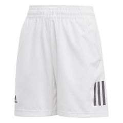 Adidas Adidas Boy Club 3 Stripes 5in Shorts  White/Black  White/Black DU2489