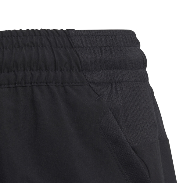 Adidas Club 3 Stripes 5in Shorts Niño - Black/White