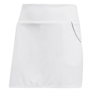 Faldas y Shorts Girl Adidas Girl Club Skirt  White/Black DW9121
