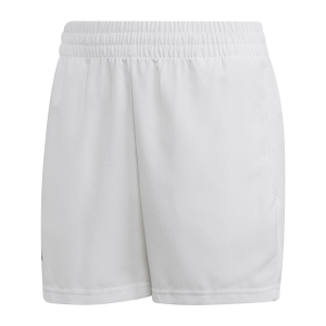 Tennis Shorts and Pants for Boys Adidas Boy Club 5in Shorts  White/Black DU2451